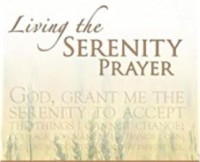 WORKSHOP: Living the Serenity Prayer